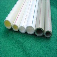 hot sale good price white plastic pipe building water supply system