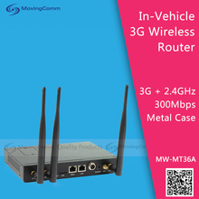 3G Vehicle Wireless Router Model MW-MT36A IEEE 802.11n 2.4GHz 2T2R 300Mbps
