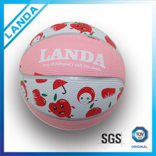 indoor pink basketball in low price