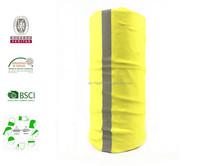 BSCI reflective stretchy seamless tube bandana