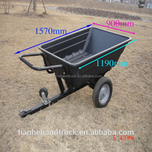 Utility Plastic Garden Tool Cart With Two Wheels TC3080PL