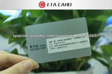 diseño transparente tarjeta busiess