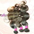Precio al por mayor de la buena calidad final completa la onda del cuerpo virginal brasileño que teje el pelo humano