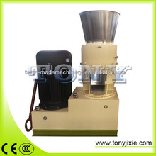 W-Environmental protection biomass flat die pellet mill with automatic lubrication