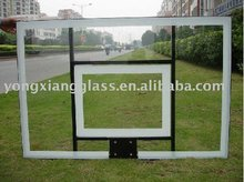Transparent 10mm acrylic glass backboard