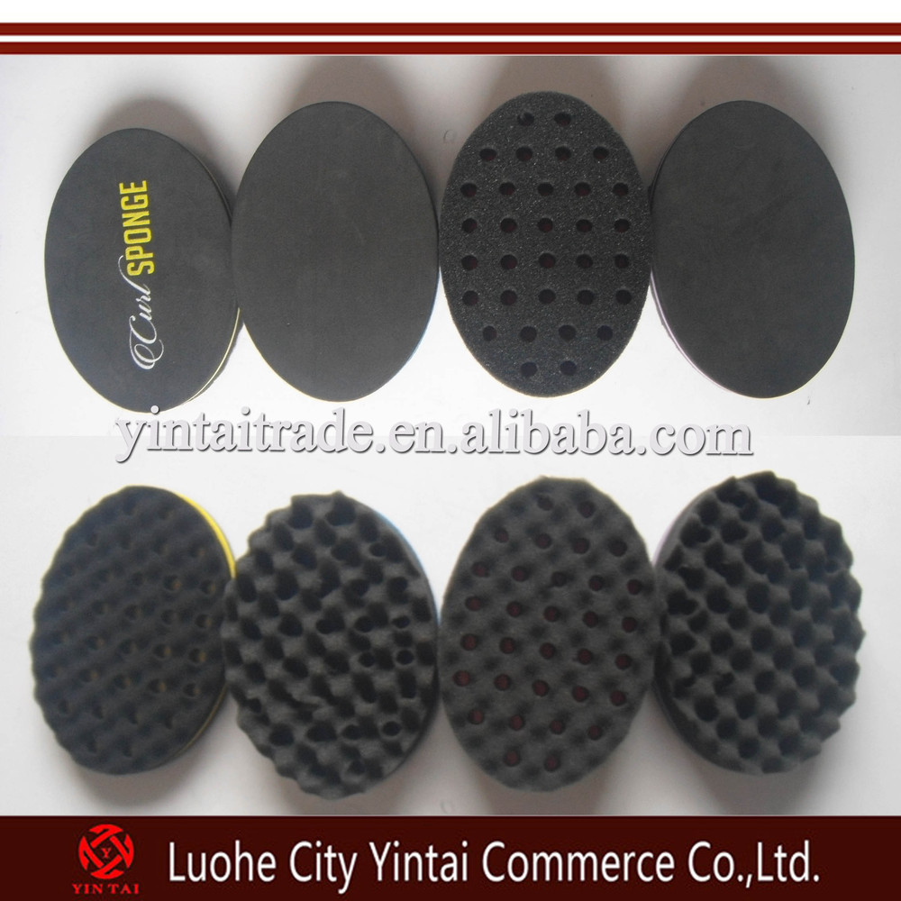 Hair Twist Sponge for Black Men ,EVA Hair Twists Sponge Brush ,sponge