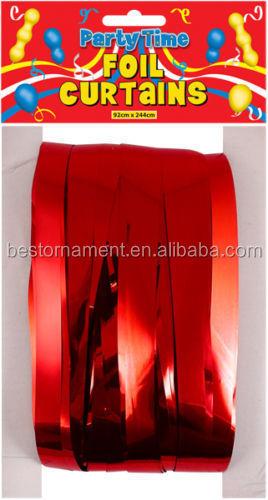 Oropel brillo coloreado papel puerta cortinas-Cortina ...