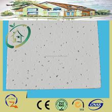Low density mineral suspended fiber ceiling square/tegular