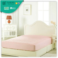 Dyed Colour Queen Size Fitted Bedspreads Patterns With Elastic
