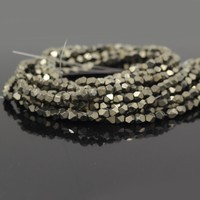 SP2794 Low Prices Natural Pyrite Faceted Nuggets Stone For Sale
