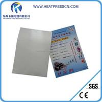 laser printing white water slide paper