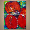 Newest Handmade Decoration Flower Art Picture On Canvas In Discount Price