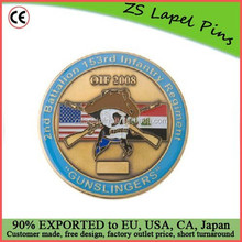Custom order quality challenge coin army
