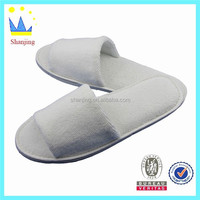 cheap disposable velvet slippers for hotel guests