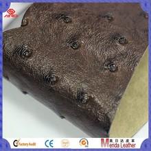 MRD5093 Good price high quality korea pvc ostrich leather