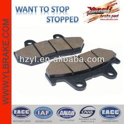China performance brake pad auto parts motorcycle
