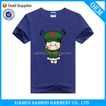 High Quality Round Neck Attractive Soft Short Sleeve Breathable T Shirt Man