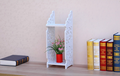 Esculpido móveis baratos decorativos de parede prateleira de canto