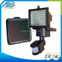 PIR Motion Sensor Solar Powered Light Outdoor Garden Wall Lamp Path Solar Light