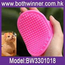 Dog grooming baths sale ,H0T246 soft slicker brush , two sides dog brush for sale