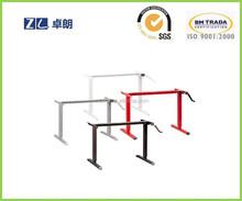 Albacete office furniture standing desk & Troyan height adjustable desk legs & Milan hand cranked adjustable