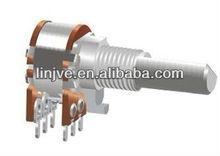 12mm carbon film volume control stereo potentiometer