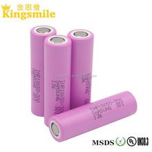 18650 Li-ion Battery samsung 30Q 3000mah 3.6V 15A 18650 flat top Battery