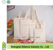 2015 Green Fashion cotton eco bag/ grocery tote bag