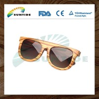 High Quality Different Wood Material Can Choose Round Cases For Wood Sunglasses