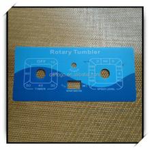 Mould tenperature controller Plastic and PET/PVC keypad membrane switch panel