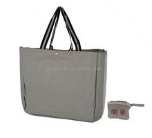 2015 Pvc Foldable Bag Rose Reusable Foldable Shopping Bag