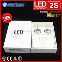 High power ETI 30w 3600 lumen moto headlight, led car headlight kit, h4 h13 h11 h7 led headlight 3600lm 12v BAOBAO Lighting