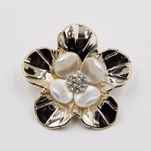 2015 wedding decoration rhinestone 51mm acrylic flower pearl jewelry P02854