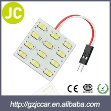 top sale made in China car led light 18smd 5050 pcb dome