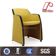 Fabric upholstered tub arm chair H-409