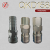 QKD-158 excavator bucket single shut-off pneumatic quick release coupling