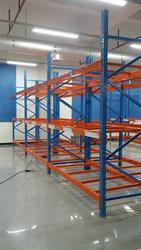 Heavy-duty store warehouse American rack