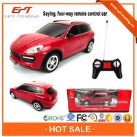 Hot selling 1:24 scale 4ch radio control toy kid car