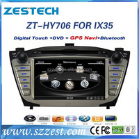 car bluetooth for hyundai ix35 car bluetooth with gps dvd CD player 3G 10disc ZT-HY706