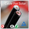 Professional Manufacturer UV resistant Tinned Copper Conductor 2*6mm2 solar connector cable XLPE insulation for solar system