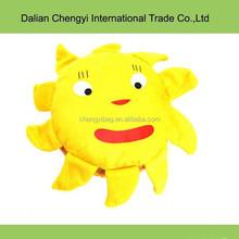 promotion unique design cute sunshine plush CD bags CD case