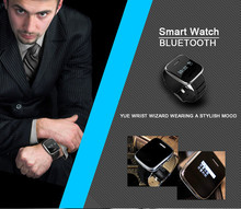 2014 men dress digital smart watch Support multi-languages OLED call ID display bluetooth watch