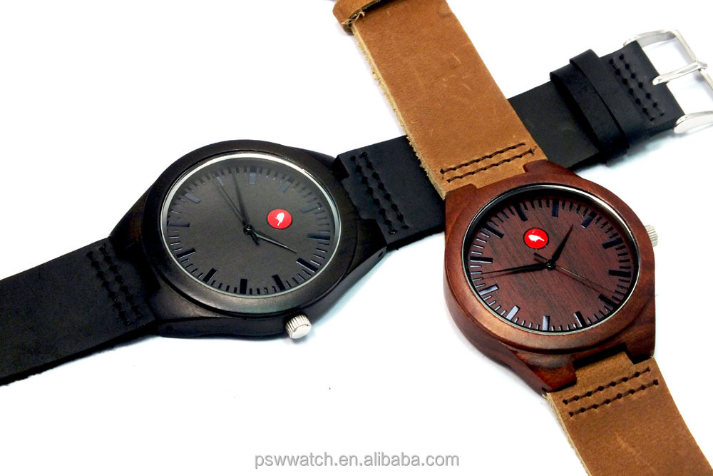 Japan Miyota 2035 movt new wood watches for sale