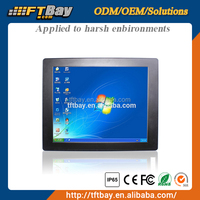 China Wholesale water proof IP65 17 Inch IP65 cheap waterproof touch screen monitor