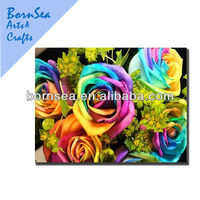 colorful roses wall decorative panels art