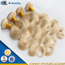 7a grade very cheap price white blonde unprocessed virgin brazilian hair weave extensions