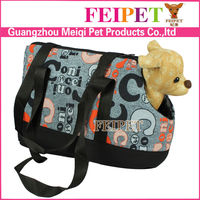 Nice fashionable alphabetical designer dog carrier tote pet carriers purse for small pet made in china