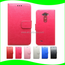 Belt PU Leather Holster Pouch For LG G Flex 2 Flip Cover Case
