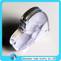 custom heart shaped photo frame pendant, fruit shaped photo frame, acrylic photo frame manufacturer china