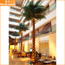 PT1515 artificial coconut palm tree for restaurant and hotel decoration